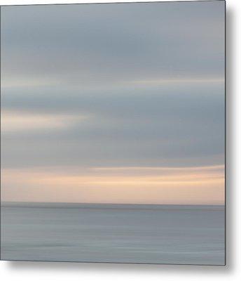 Soft Sunset La Jolla Metal Print by Carol Leigh