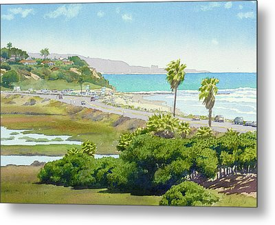 Solana Beach California Metal Print by Mary Helmreich
