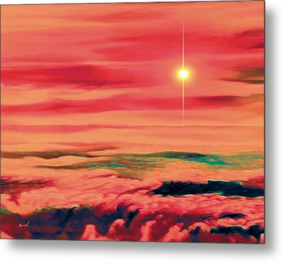 Solar Winds Metal Print by The Art of Marsha Charlebois