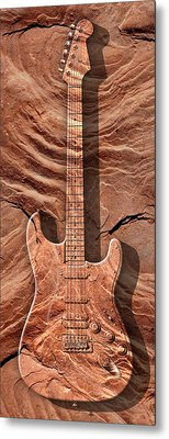 Solid As A Rock Panoramic Metal Print by Mike McGlothlen