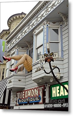 Something To Find Only The In The Haight Ashbury Metal Print by Jim Fitzpatrick