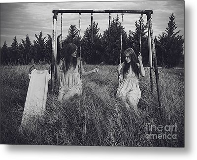 Sometimes You Have To Be Your Own Best Friend Metal Print by Ivy  Taylor
