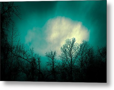 Somewhere Between Here And There Metal Print by Bob Orsillo