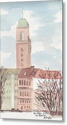 Somewhere In Berlin Metal Print by Catalina Velasquez