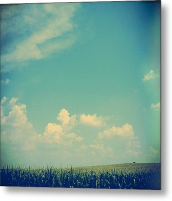 Somewhere Off In The Distance Metal Print by Joy StClaire