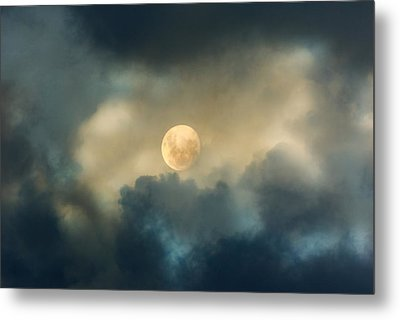 Song To The Moon Metal Print by Georgiana Romanovna