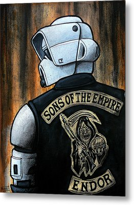 Sons Of The Empire Metal Print by Marlon Huynh