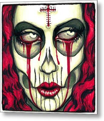 Sorrow Metal Print by Shayne  Bohner