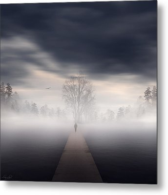 Soul's Journey Metal Print by Lourry Legarde