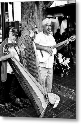 Sound Of The Streets Metal Print by Andrew Raby