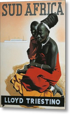 South Africa  Metal Print by Anonymous