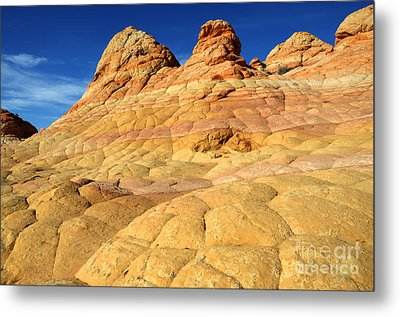 South Coyote Buttes 4 Metal Print by Bob Christopher