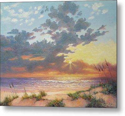 South Padre Island Splendor Metal Print by Carol Reynolds