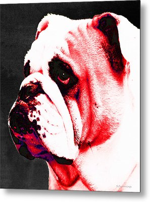 Southern Dawg By Sharon Cummings Metal Print by Sharon Cummings