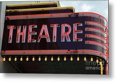 Southern Theatre Metal Print by Julie Penney