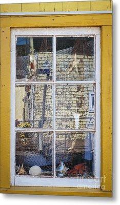Souvenir Store Window Metal Print by Elena Elisseeva