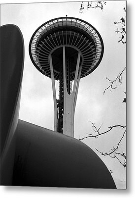 Space Needle Metal Print by Kirt Tisdale