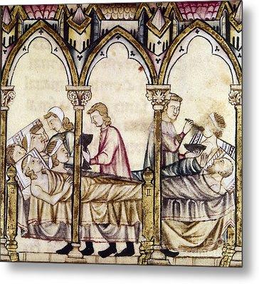 Spain: Medieval Hospital Metal Print by Granger