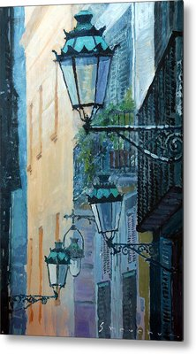 Spain Series 07 Barcelona  Metal Print by Yuriy Shevchuk