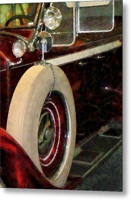 Spare Tire Metal Print by Susan Savad