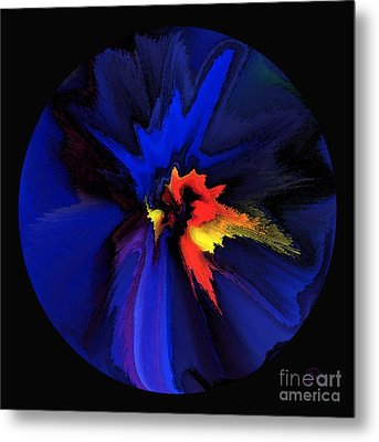 Spark Of Transformation Metal Print by Patricia Kay