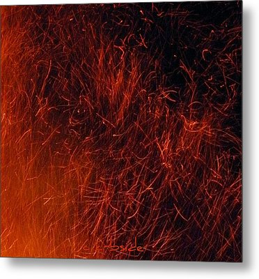 Sparks Metal Print by Chris Berry