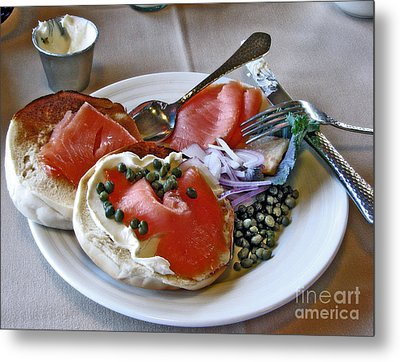 Special Birthday Breakfast Metal Print by Chris Anderson