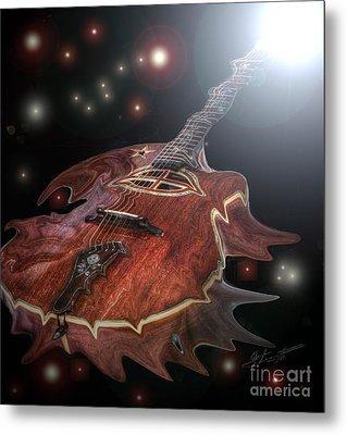 Speed Of Sound Digital Guitar Art By Steven Langston Metal Print by Steven Lebron Langston