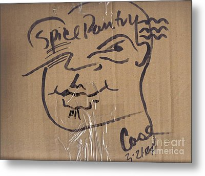 Spice Pantry Metal Print by Feile Case