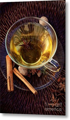 Spiced Tea Metal Print by Mythja  Photography