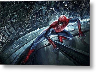Spider Man 210 Metal Print by Movie Poster Prints