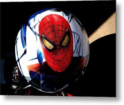 Spiderman Metal Print by Bruce Iorio