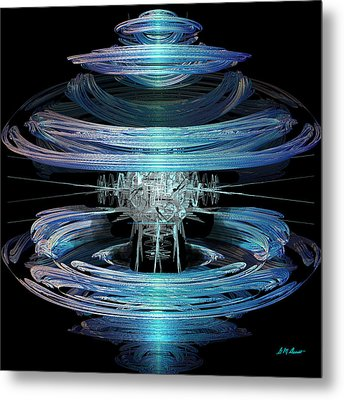Spiral Movement Metal Print by Michael Durst