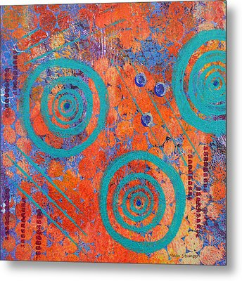 Spiral Series - Continual Metal Print by Moon Stumpp