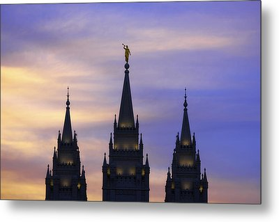 Spires Metal Print by Chad Dutson