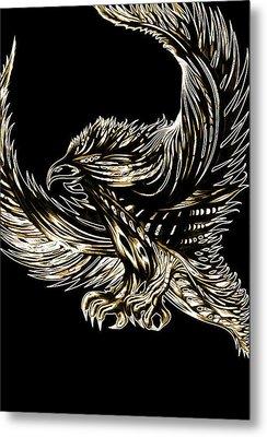 Spirit Bird Metal Print by Adam Boshart