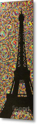 Spirit Of Paris Metal Print by Sean Ward