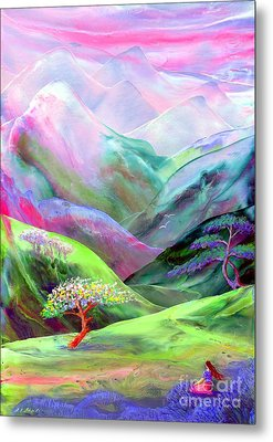 Spirit Of Spring Metal Print by Jane Small