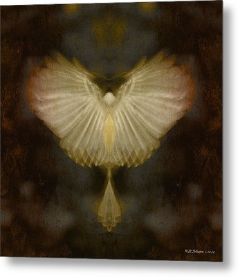 Spirit Rising Metal Print by WB Johnston