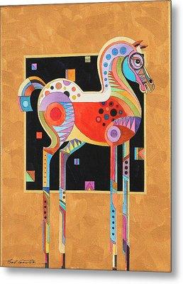 Spirit Stallion II Metal Print by Bob Coonts