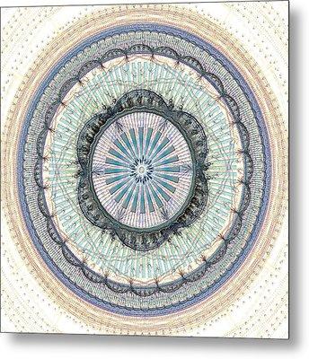 Spiritual Growth Metal Print by Anastasiya Malakhova