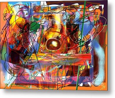 Spiritual Understanding 3 Metal Print by David Baruch Wolk