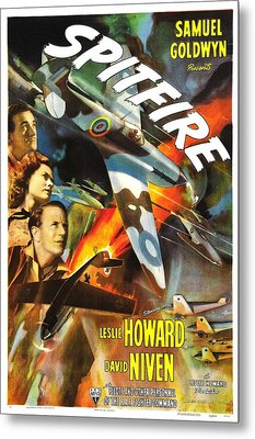 Spitfire, Aka The First Of The Few, Us Metal Print by Everett