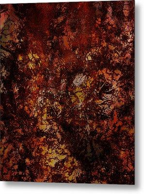 Splattered  Metal Print by James Barnes