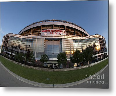 Sports Authority Field At Mile High Metal Print by Juli Scalzi