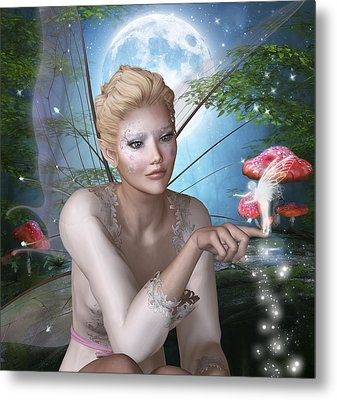 Spring Fae 8 Metal Print by David Griffith