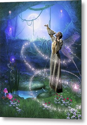 Spring Fae 9 Metal Print by David Griffith