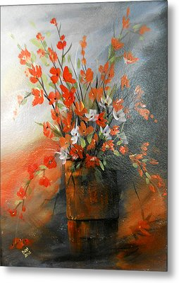 Spring Flower Bouquet Metal Print by Dorothy Maier