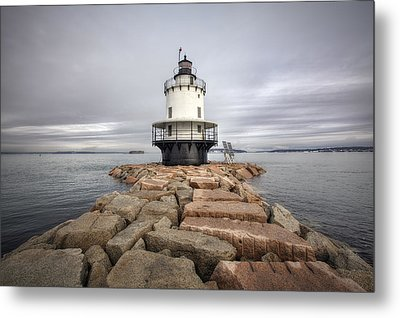 Spring Point Ledge Metal Print by Eric Gendron
