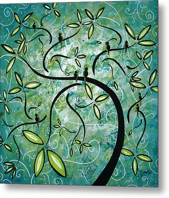 Spring Shine By Madart Metal Print by Megan Duncanson